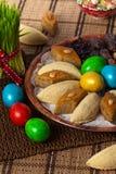 Östliga sötsaker på Nowruz ferie Arkivbild