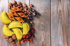 Östliga sötsaker till Novruz ferie Royaltyfri Foto