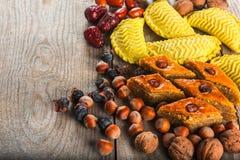 Östliga sötsaker till Novruz ferie Royaltyfri Fotografi