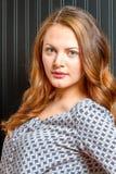 Östligt - europeisk kvinnlig skönhet Arkivfoton