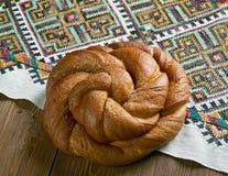Östligt - europeiskt påskbröd royaltyfri foto