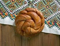 Östligt - europeiskt påskbröd royaltyfria foton