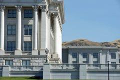 Östligt hörn för Utah statKapitolium Arkivbild