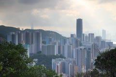 Östligt område på Hong Kong royaltyfria foton