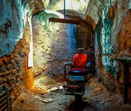 Östligt påstå straffanstalten, Philadelphia, PA royaltyfria foton