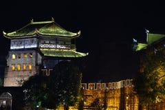 Östligt porttorn av Xiangxi, Fenghuang, Royaltyfri Bild