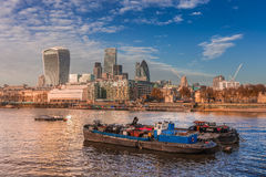 Östligt slut av den London staden, Förenade kungariket Arkivbild