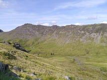 Östligt slut område av för den Ennerdale dalen, sjö arkivbild
