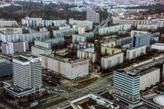 Östligt sovjetiskt område av Berlin royaltyfria bilder