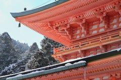 Östligt torn av den Enryaku templet royaltyfri fotografi