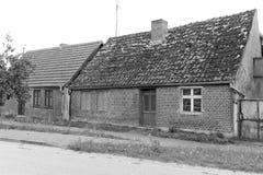 Östligt - tysk byggnad arkivbild