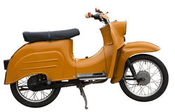 östligt - tysk motorbike Royaltyfria Foton