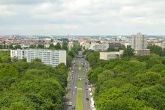 Över Berlin Arkivfoto