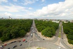 Över Berlin Arkivfoton