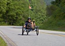 över den cykelgeorgia ritten Fotografering för Bildbyråer