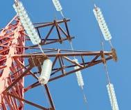 Över den klara blåa skyen Royaltyfri Fotografi