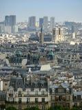 över den paris sikten Royaltyfria Bilder