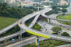 över huvudet broar Arkivfoto