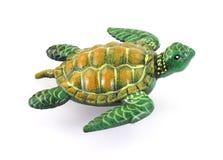 över huvudet havssköldpaddasikt Royaltyfri Foto