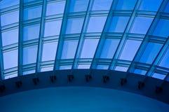 över huvudet takfönsterfönster Arkivfoto
