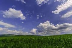 Över kullarna och långt borta Arkivbild
