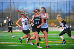 över lacrosse för huvuddelkontroll Royaltyfria Foton