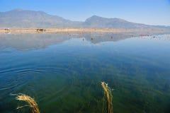 Över LaShiHai en sjö Royaltyfri Fotografi