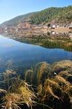 Över LaShiHai en sjö Royaltyfria Bilder
