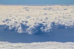 Över molnen Royaltyfri Foto