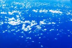 Över molnen arkivbilder