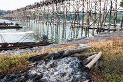 Över sikt måndag bro Fotografering för Bildbyråer