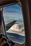 över skyen Royaltyfri Bild