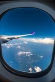 över skyen Royaltyfri Foto