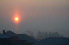 över solnedgångby Royaltyfria Bilder