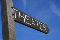 över teater där Arkivfoton
