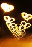 överallt ljus målningsfred för hjärta Arkivfoto