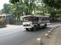 Överbefolkad buss Royaltyfri Foto