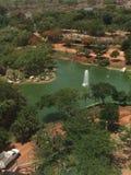 Överblick av en zoo i Mexico Royaltyfri Bild