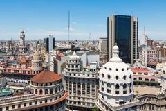 Överblick av mitten av Buenos Aires royaltyfria bilder