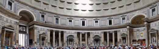 Överblick av panteon arkivfoton