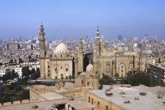 överblick för 111 cairo egypt Arkivbild