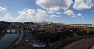 överblick rome arkivfoto
