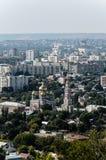 Överblickfoto av staden Royaltyfri Foto