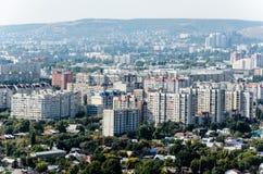 Överblickfoto av staden Arkivfoton
