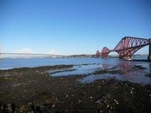 Överbrygga framåt det Skottland landskapet arkivbilder