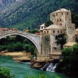 Mostar Royaltyfri Fotografi
