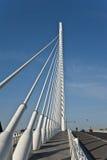 Överbrygga vid Calatrava i Valencia. Arkivfoto
