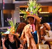överdådiga hattar Royaltyfria Bilder