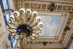 Överdådiga hus i Amerika säkerhetsbrytareherrgård Royaltyfri Foto