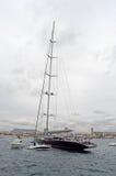 Överdimensionerad segelbåt Royaltyfria Foton